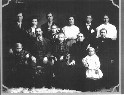 Ferdinand Aderman family