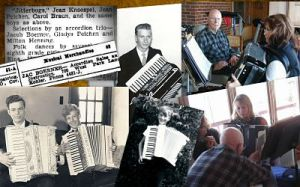 Accordion playing in the Aderman and Boerner families