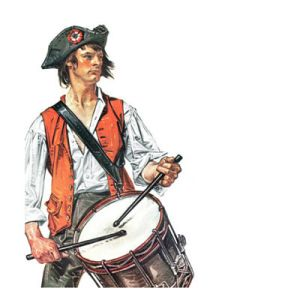 Colonial Drummer