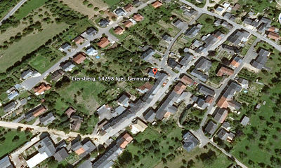 A closer view of Liersberg, Germany now (from Google Earth).