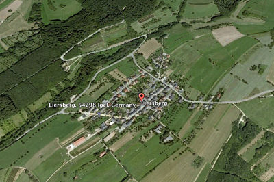 Liersberg today (from a Google Earth view).